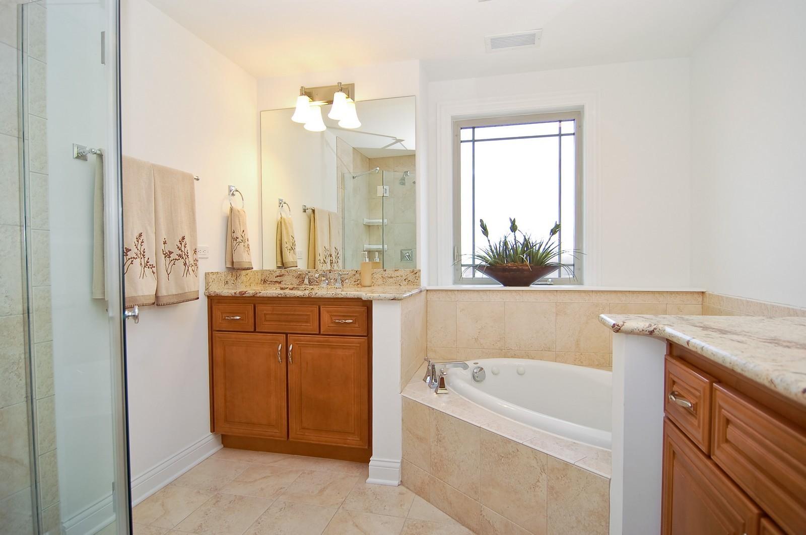 Real Estate Photography - 200- 7B Lake Street, St Joseph, MI, 49085 - Master Bathroom