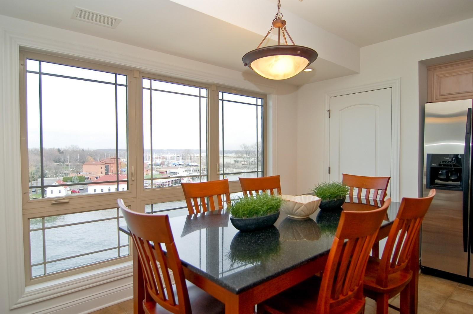 Real Estate Photography - 200- 7B Lake Street, St Joseph, MI, 49085 - Dining Room
