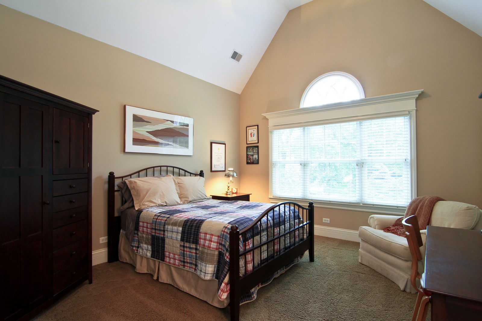 Real Estate Photography - 127 Tuttle, Claredon Hills, IL, 60514 - 2nd Bedroom