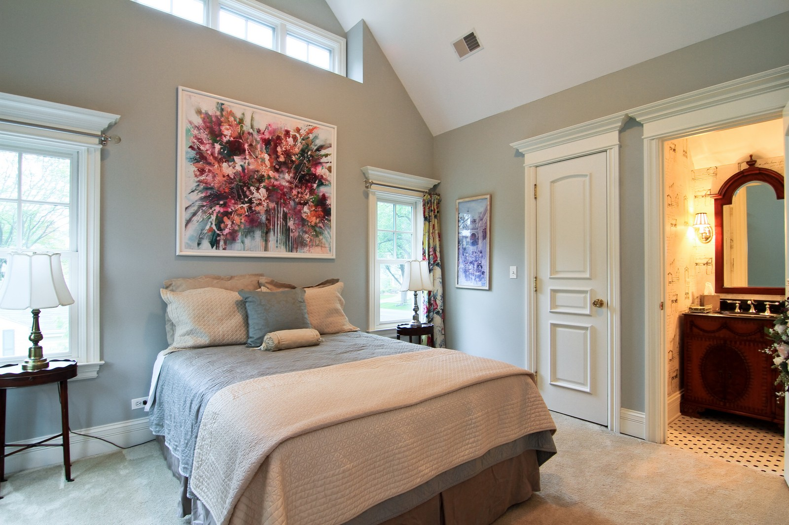 Real Estate Photography - 127 Tuttle, Claredon Hills, IL, 60514 - 3rd Bedroom