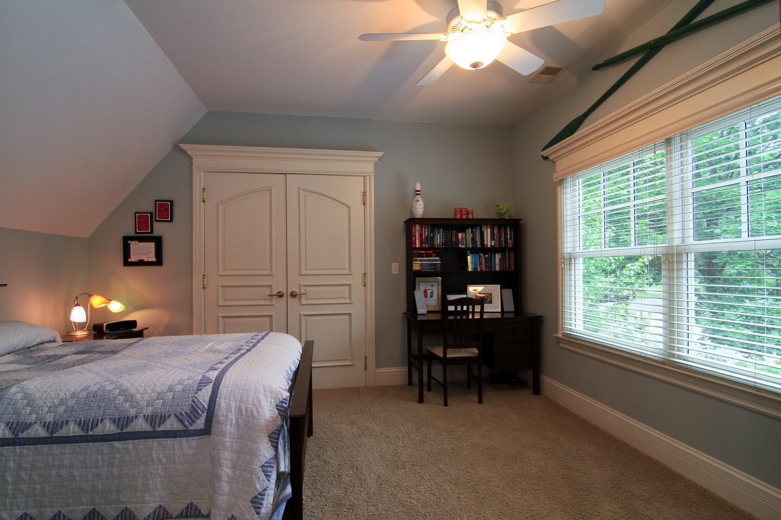 Real Estate Photography - 127 Tuttle, Claredon Hills, IL, 60514 - Bedroom