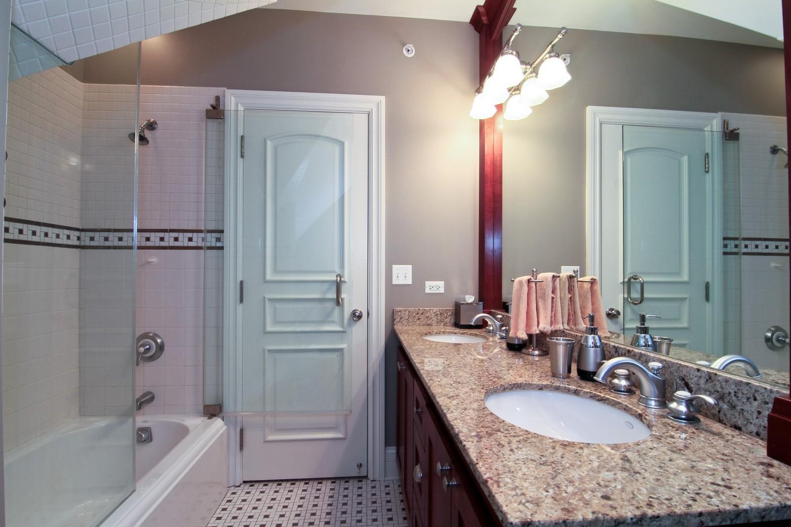 Real Estate Photography - 127 Tuttle, Claredon Hills, IL, 60514 - Bathroom