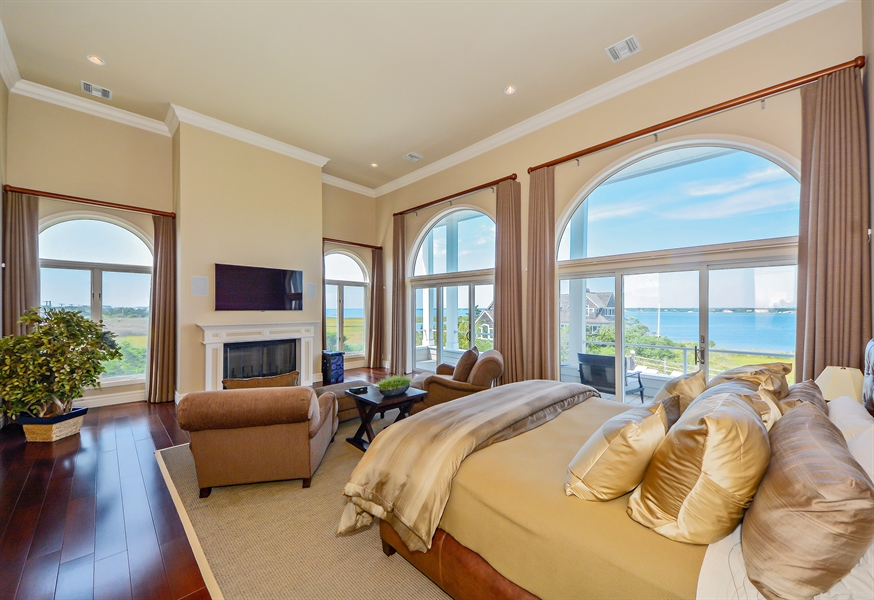 Real Estate Photography - 364 Dune Road, Westhampton Beach, NY, 11978 - Master Bedroom