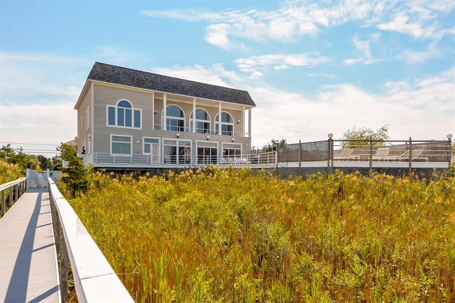 Real Estate Photography - 364 Dune Road, Westhampton Beach, NY, 11978 - Rear View