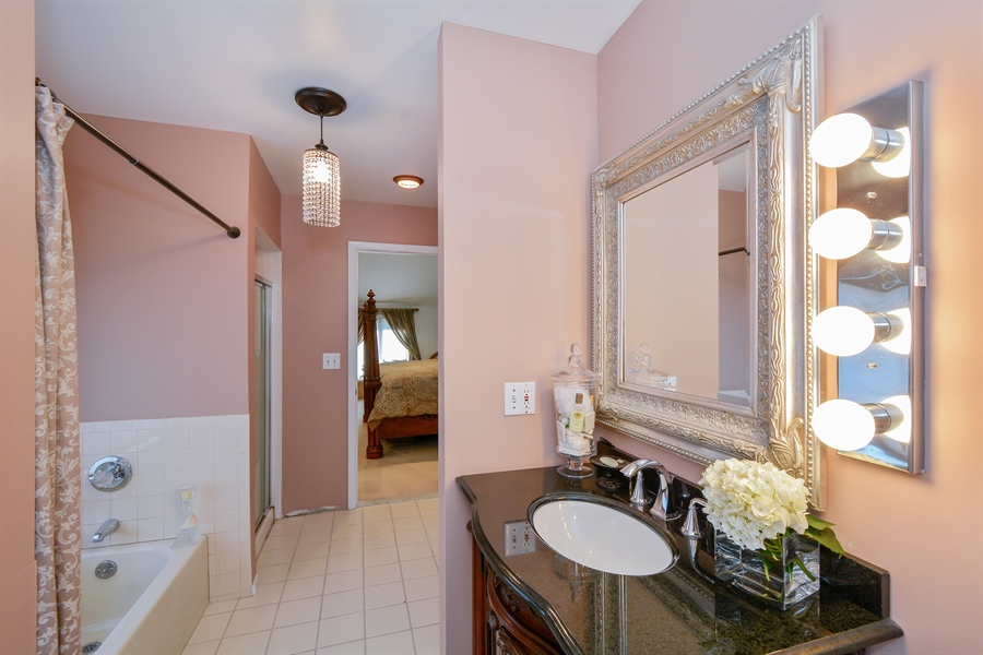 Real Estate Photography - 33 Red Bridge, Center Moriches, NY, 11934 - Master Bathroom