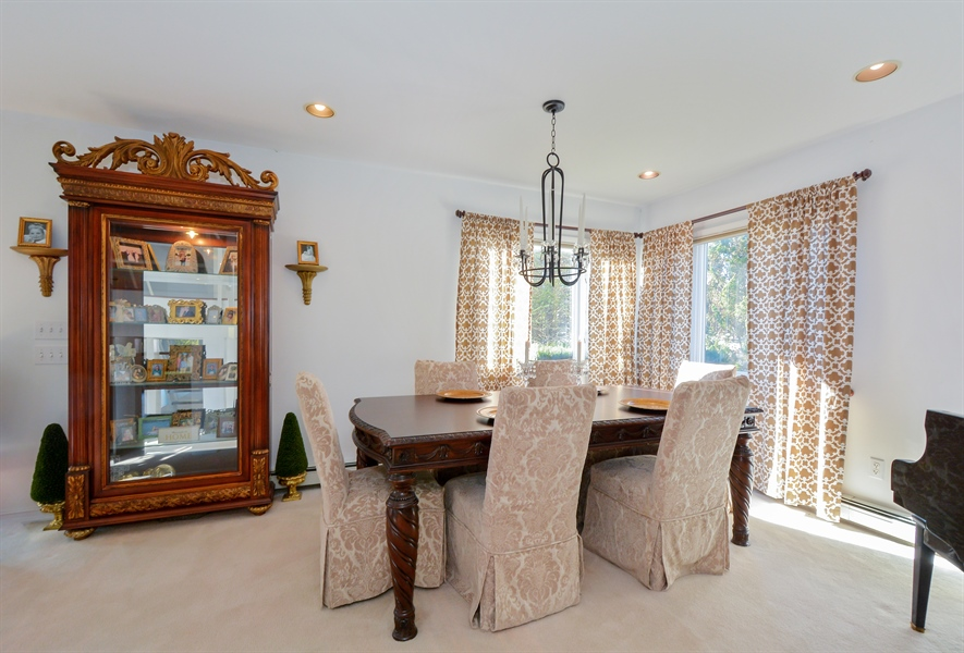 Real Estate Photography - 33 Red Bridge, Center Moriches, NY, 11934 - Dining Room
