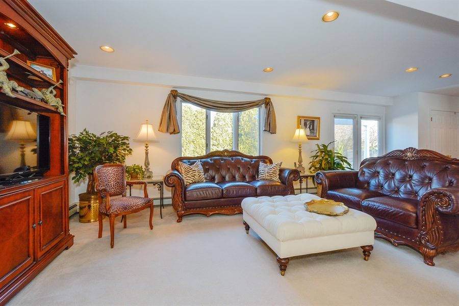Real Estate Photography - 33 Red Bridge, Center Moriches, NY, 11934 - Family Room