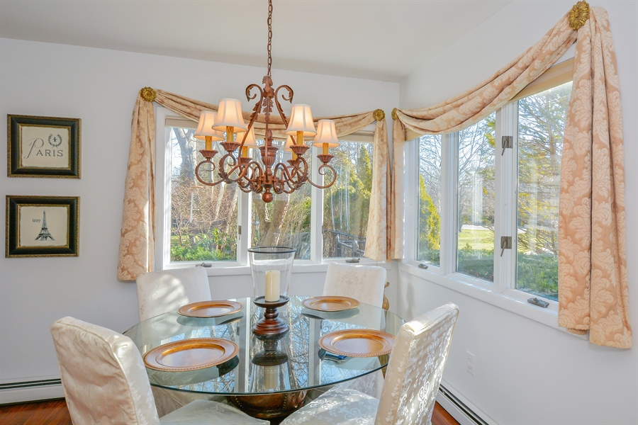 Real Estate Photography - 33 Red Bridge, Center Moriches, NY, 11934 - Dining Area