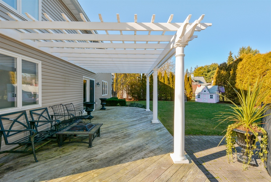 Real Estate Photography - 33 Red Bridge, Center Moriches, NY, 11934 - Deck