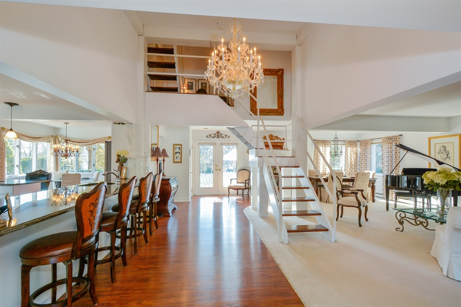 Real Estate Photography - 33 Red Bridge, Center Moriches, NY, 11934 - Kitchen / Dining Room