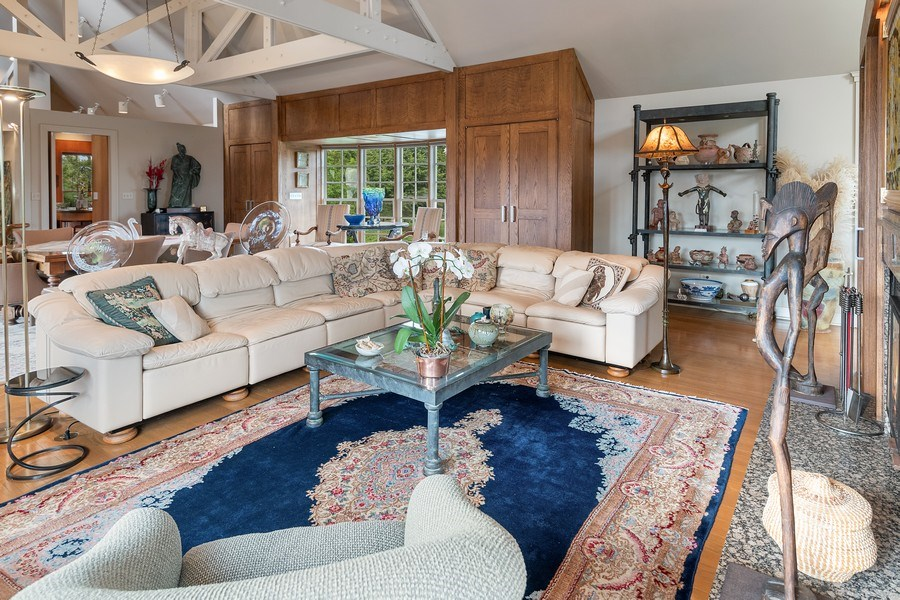 Real Estate Photography - 52 & 56 Tuthill Point Rd, East Moriches, NY, 11940 - Living Room