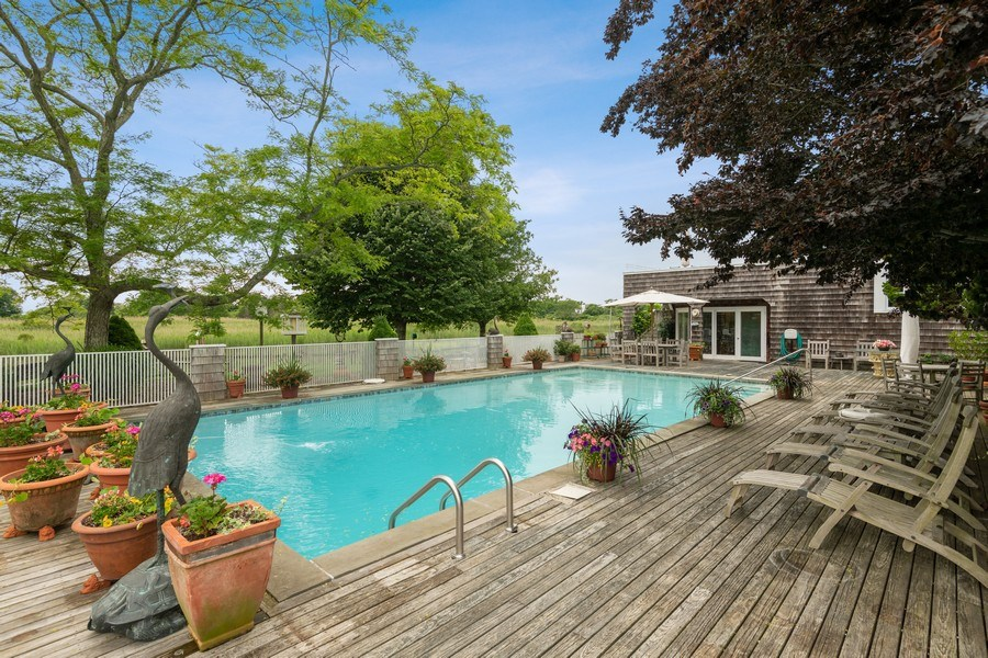 Real Estate Photography - 52 & 56 Tuthill Point Rd, East Moriches, NY, 11940 - Pool