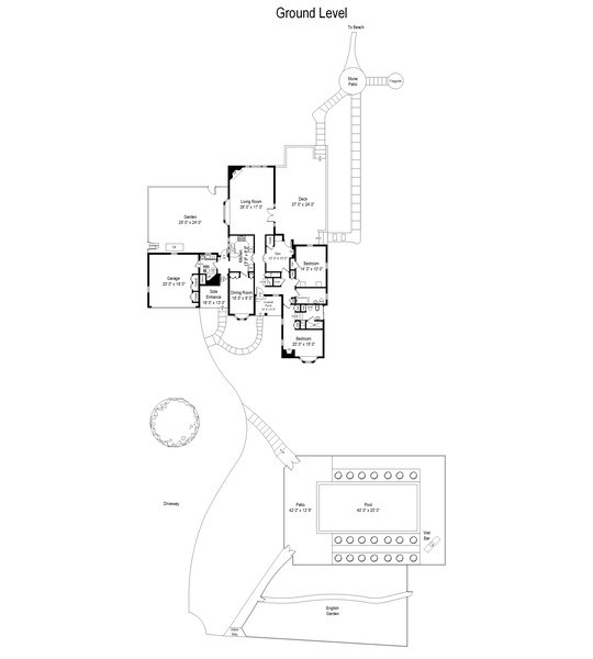 Real Estate Photography - 52 & 56 Tuthill Point Rd, East Moriches, NY, 11940 - Floor Plan
