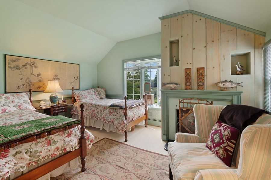 Real Estate Photography - 52 & 56 Tuthill Point Rd, East Moriches, NY, 11940 - Guest House Bedroom