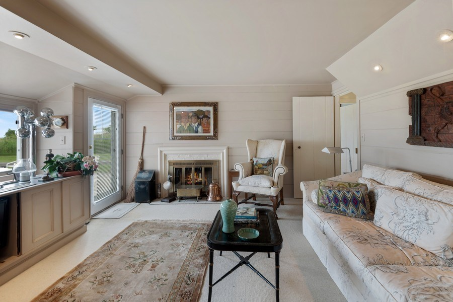 Real Estate Photography - 52 & 56 Tuthill Point Rd, East Moriches, NY, 11940 - Guest House Family Room