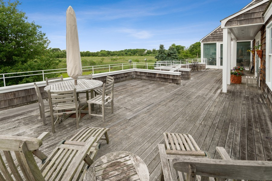 Real Estate Photography - 52 & 56 Tuthill Point Rd, East Moriches, NY, 11940 - Deck