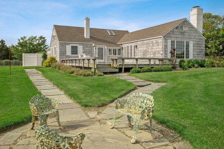Real Estate Photography - 52 & 56 Tuthill Point Rd, East Moriches, NY, 11940 - Patio