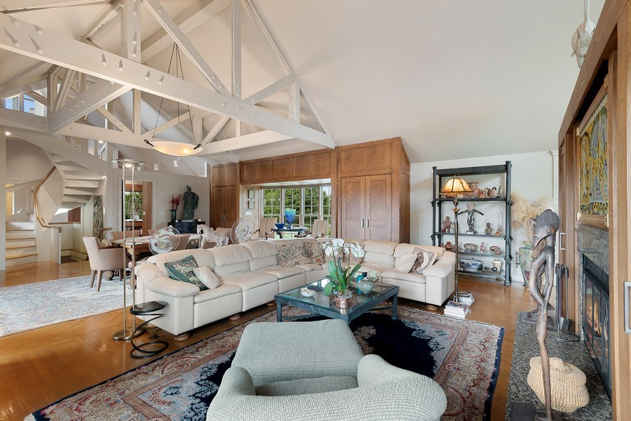 Real Estate Photography - 52 & 56 Tuthill Point Rd, East Moriches, NY, 11940 - Living Room / Dining Room