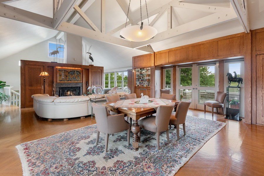 Real Estate Photography - 52 & 56 Tuthill Point Rd, East Moriches, NY, 11940 - Living Room/Dining Room