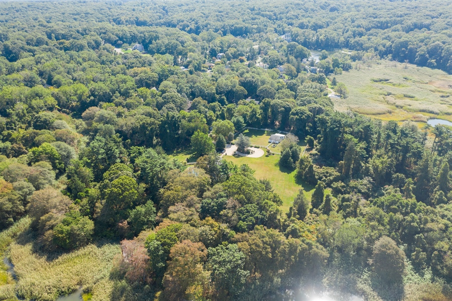 Real Estate Photography - 117 Sound Rd, Wading River, NY, 11792 - Aerial View