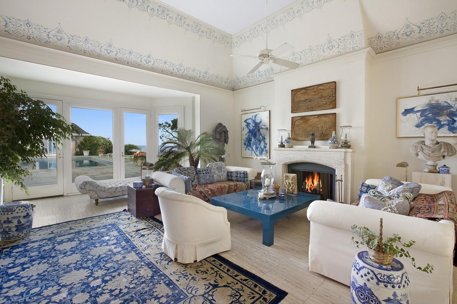 ... Real Estate Photography   20 Drew Lane, East Hampton, NY, 11937   Living  ...