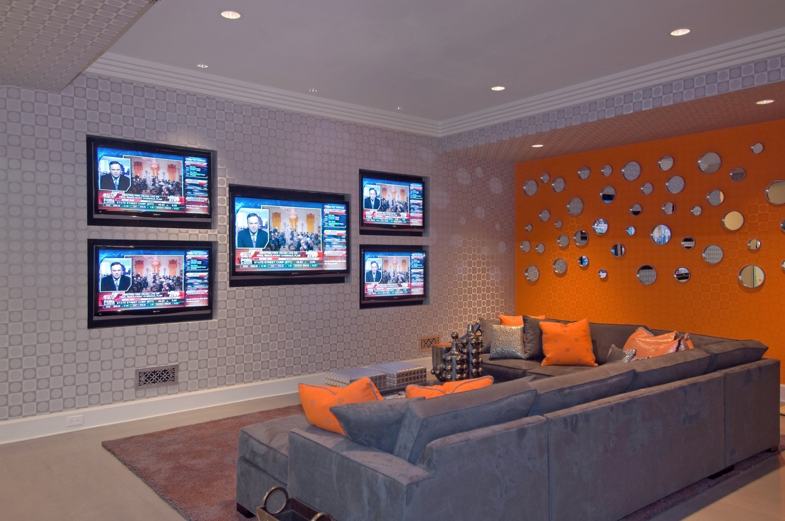Real Estate Photography - 612 halsey lane, bridgehampton, NY, 11932 - Media Room