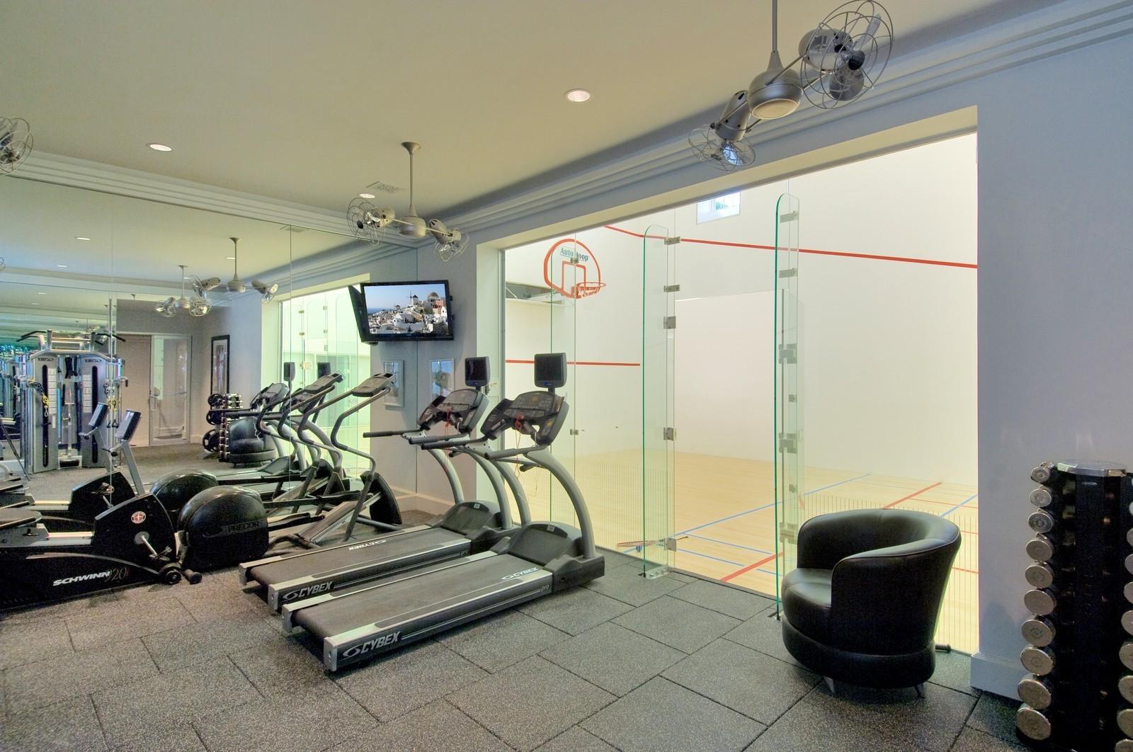 Real Estate Photography - 612 halsey lane, bridgehampton, NY, 11932 - Gym