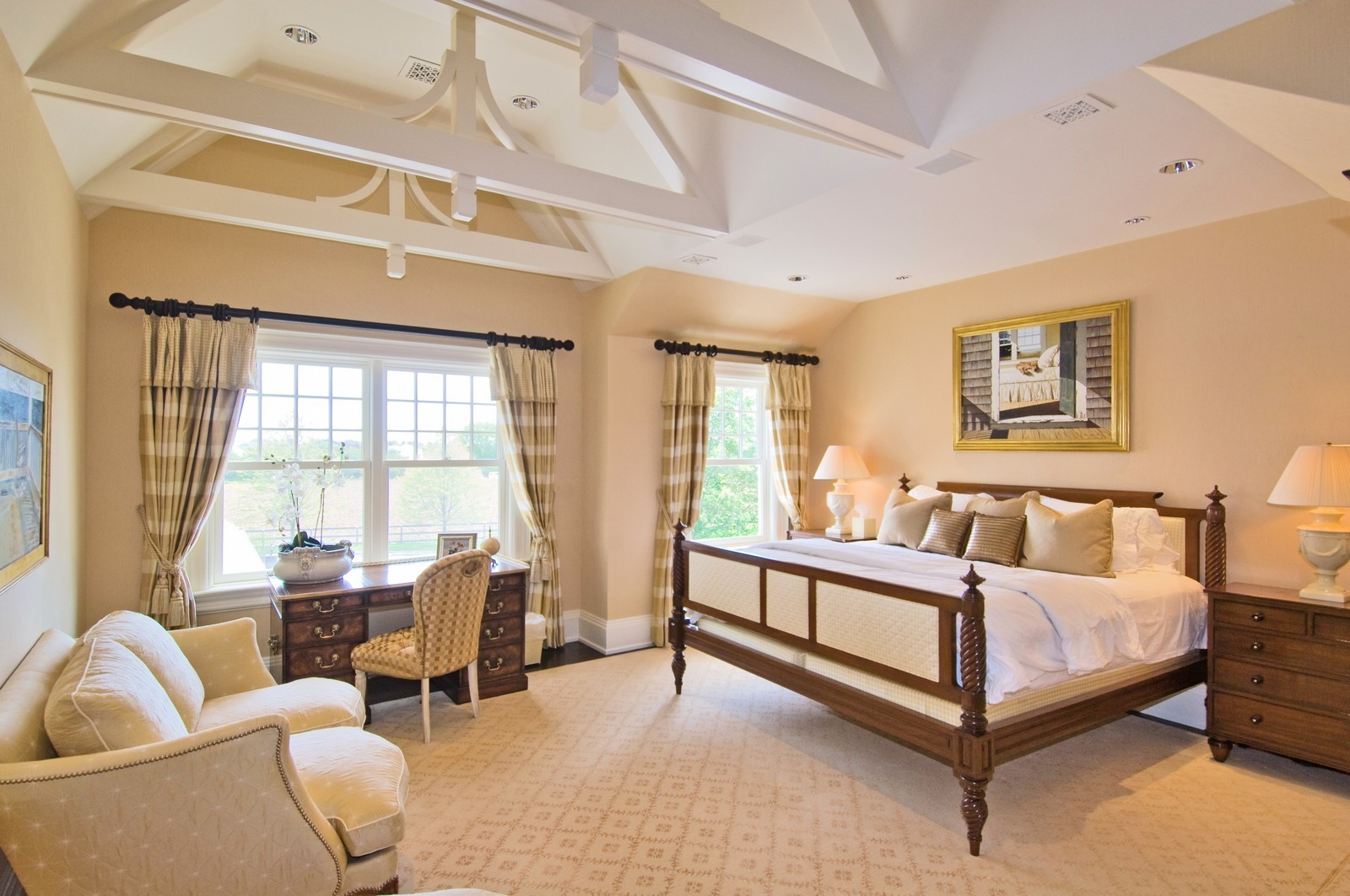 Real Estate Photography - 612 halsey lane, bridgehampton, NY, 11932 - Bedroom