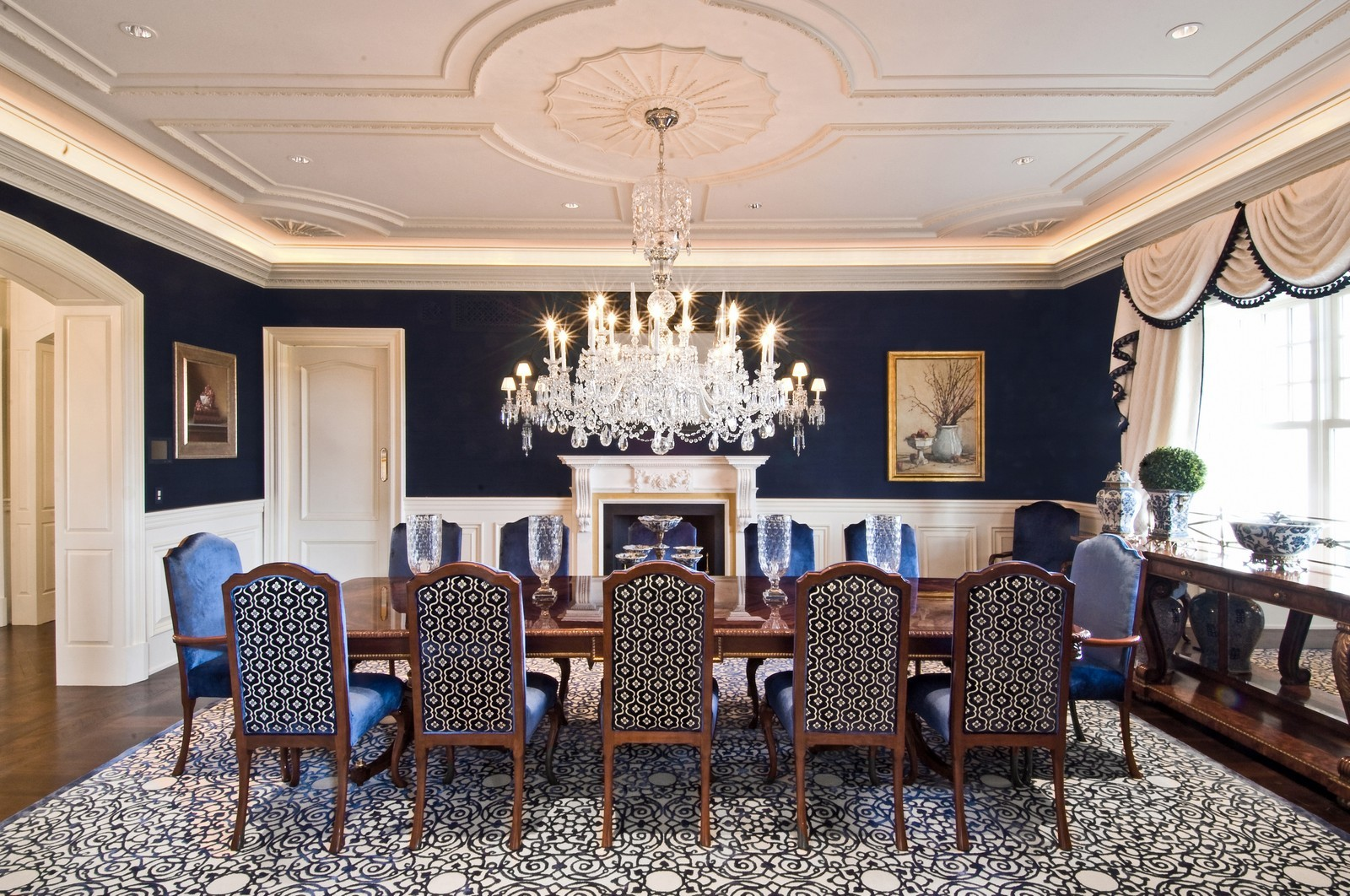 Real Estate Photography - 612 halsey lane, bridgehampton, NY, 11932 - Dining Room