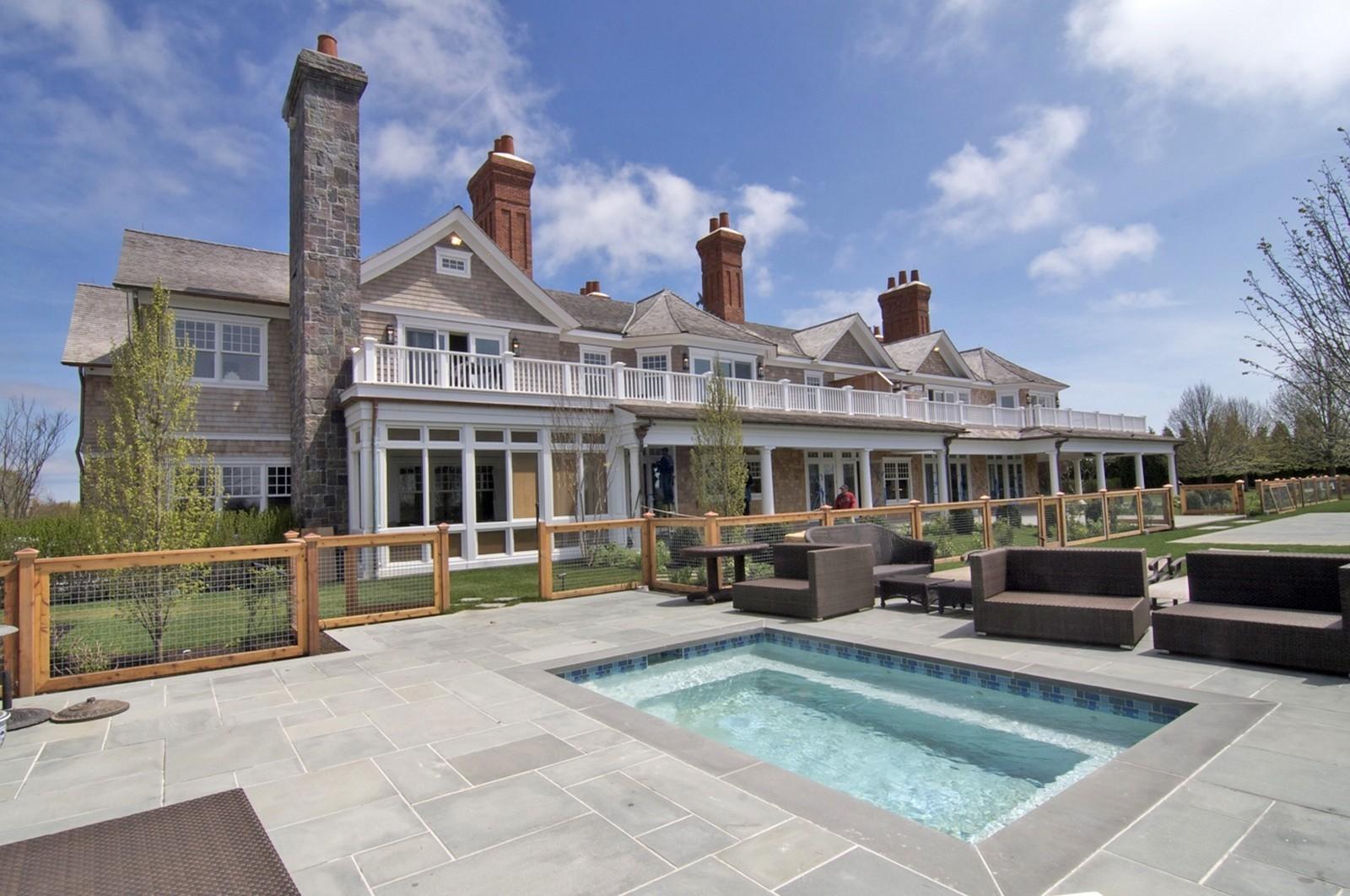 Real Estate Photography - 612 halsey lane, bridgehampton, NY, 11932 - Pool