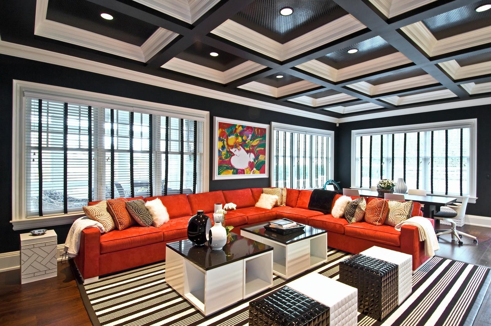 Real Estate Photography - 612 halsey lane, bridgehampton, NY, 11932 - Den
