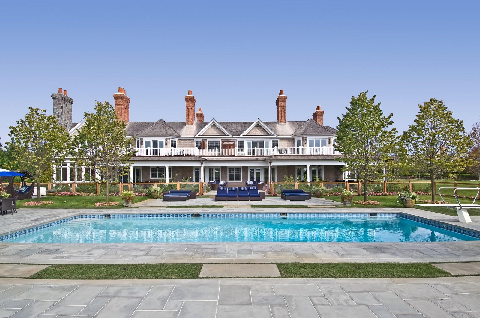 Real Estate Photography - 612 halsey lane, bridgehampton, NY, 11932 - Rear View