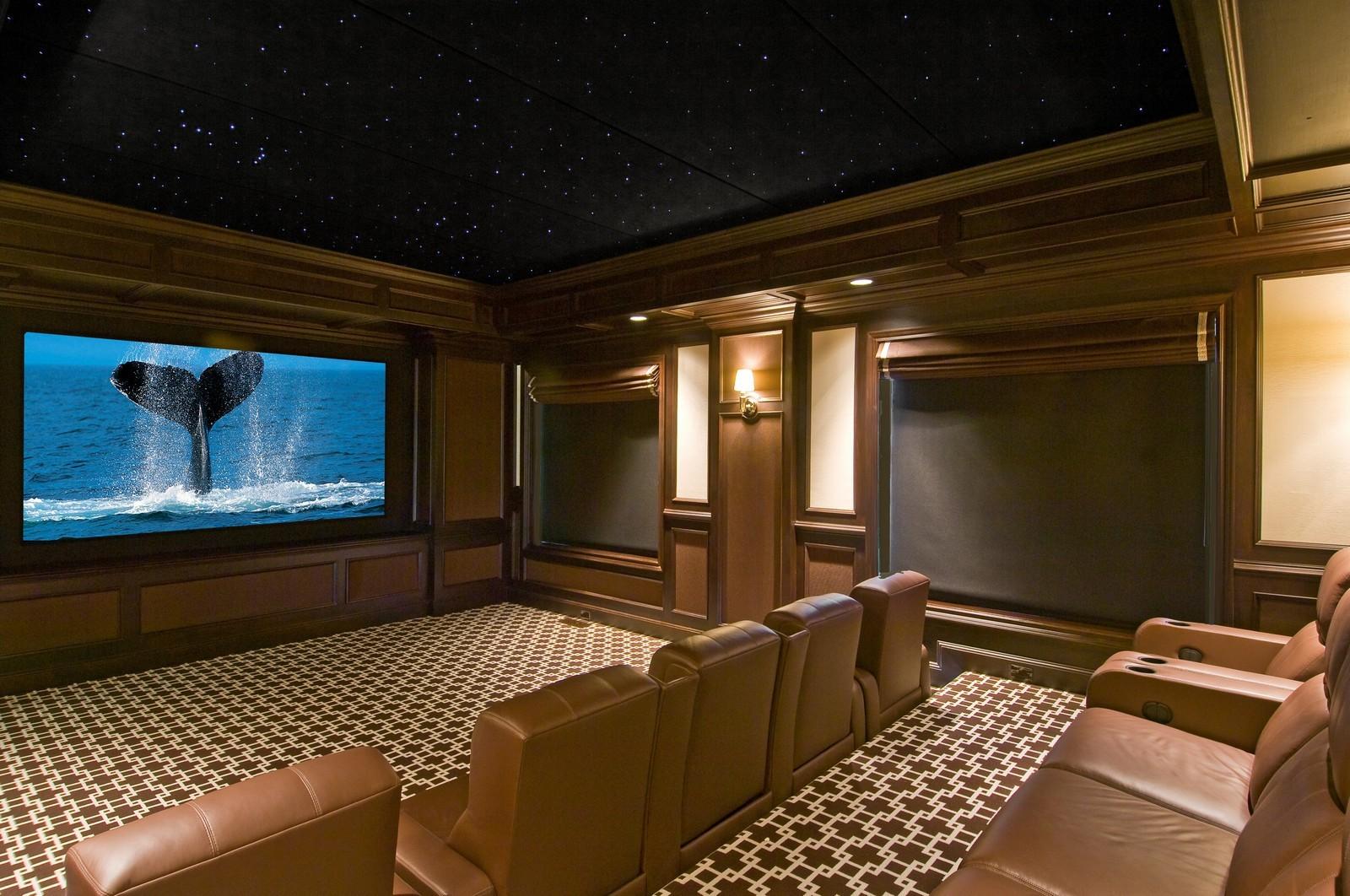 Real Estate Photography - 612 halsey lane, bridgehampton, NY, 11932 - Theater