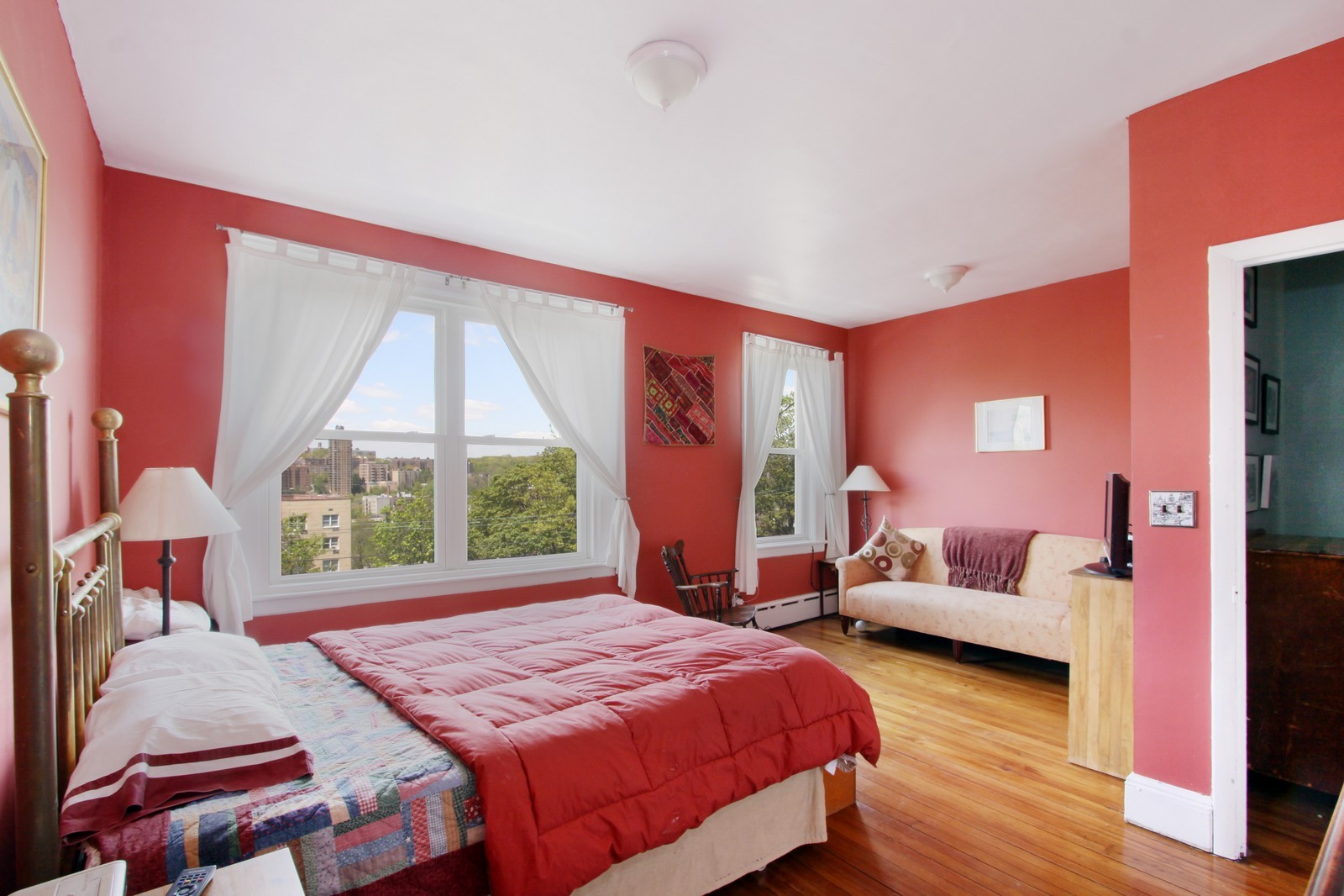 Real Estate Photography - 3488 Cannon Place, NEW YORK, NY, 10463 - Master Bedroom