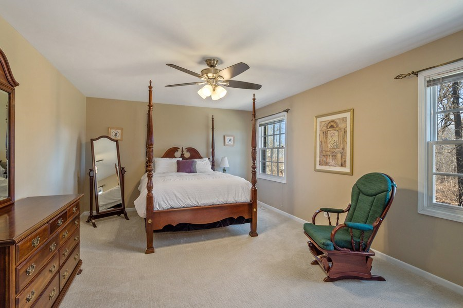 Real Estate Photography - 22023 W. Chestnut Ridge, Kildeer, IL, 60047 - Master Bedroom