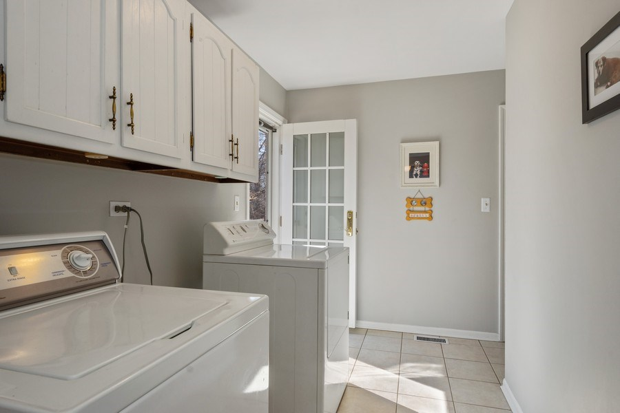Real Estate Photography - 22023 W. Chestnut Ridge, Kildeer, IL, 60047 - Laundry Room