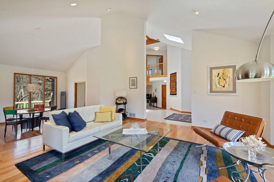 Real Estate Photography - 21362 W. Brandon Road, Kildeer, IL, 60047 - Living Room