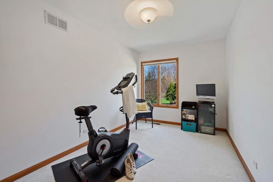 Real Estate Photography - 21362 W. Brandon Road, Kildeer, IL, 60047 - 3rd Bedroom