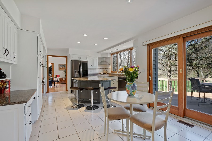 Real Estate Photography - 21362 W. Brandon Road, Kildeer, IL, 60047 - Kitchen
