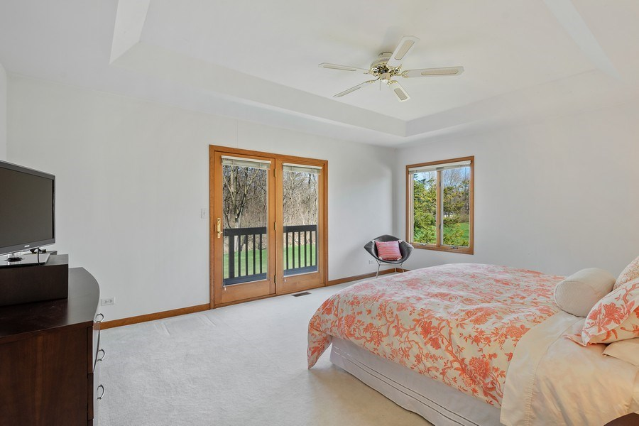 Real Estate Photography - 21362 W. Brandon Road, Kildeer, IL, 60047 - Master Bedroom