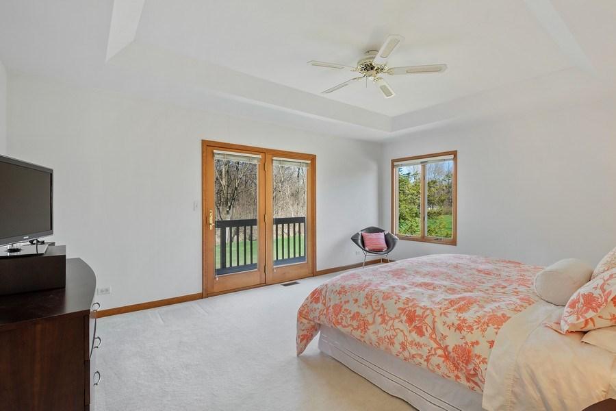 Real Estate Photography - 21362 W. Brandon Road, Kildeer, IL, 60047 - Master Bedroom
