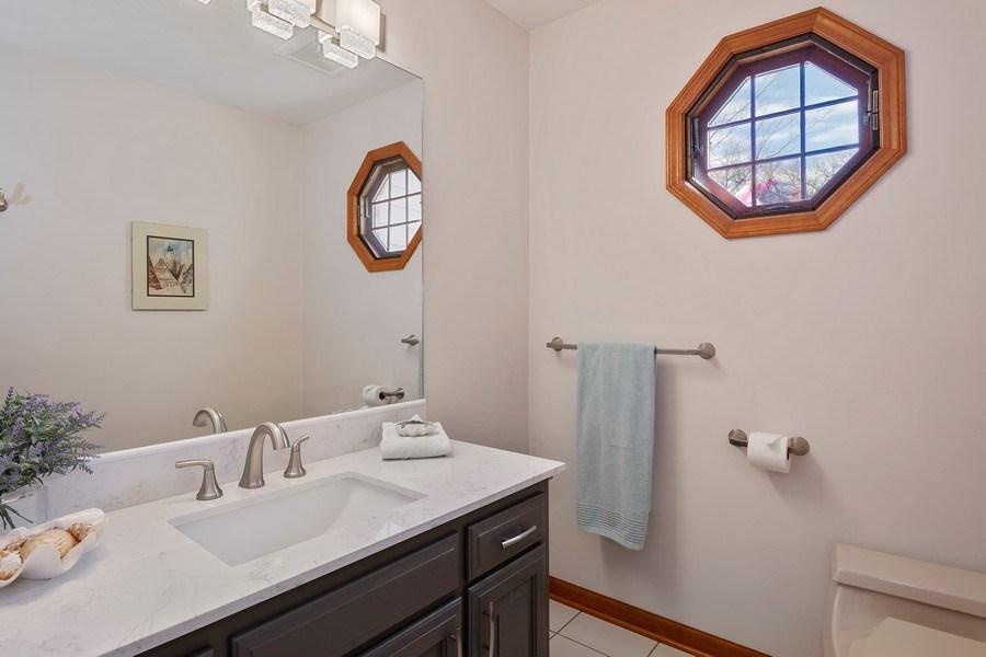 Real Estate Photography - 21362 W. Brandon Road, Kildeer, IL, 60047 - 3rd Full Bathroom on MAIN LEVEL