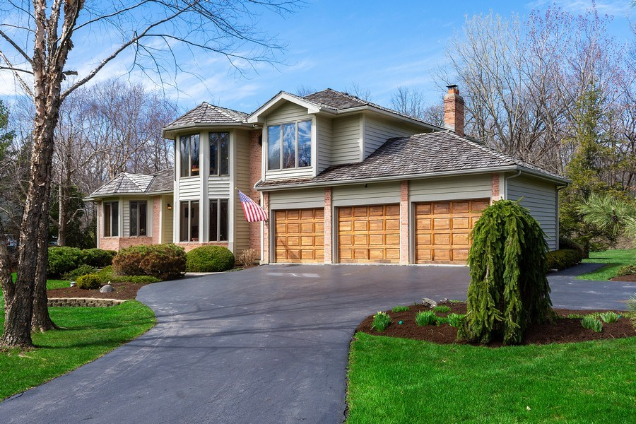 Real Estate Photography - 21362 W. Brandon Road, Kildeer, IL, 60047 - Front View
