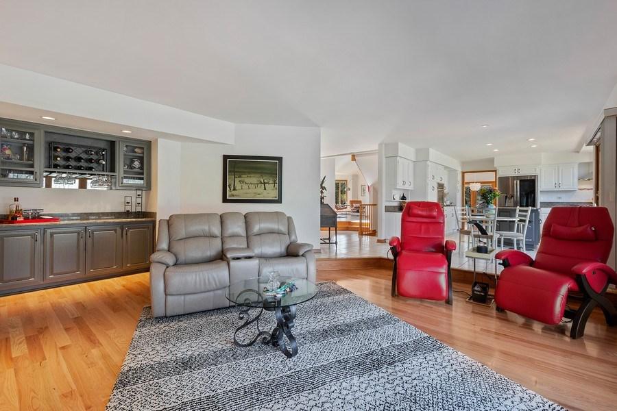 Real Estate Photography - 21362 W. Brandon Road, Kildeer, IL, 60047 - Family Room