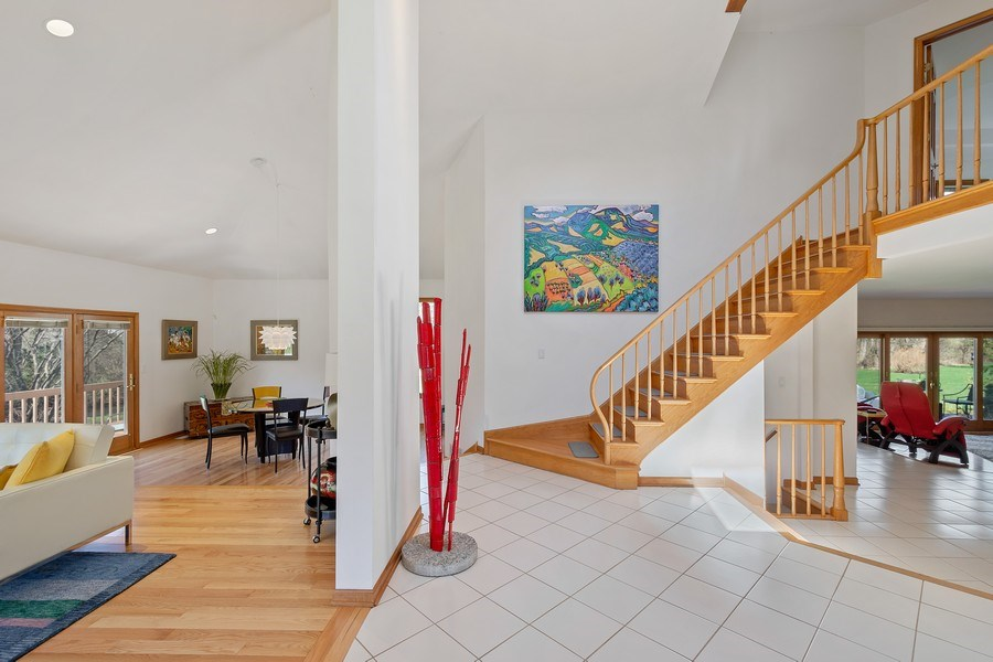 Real Estate Photography - 21362 W. Brandon Road, Kildeer, IL, 60047 - Foyer