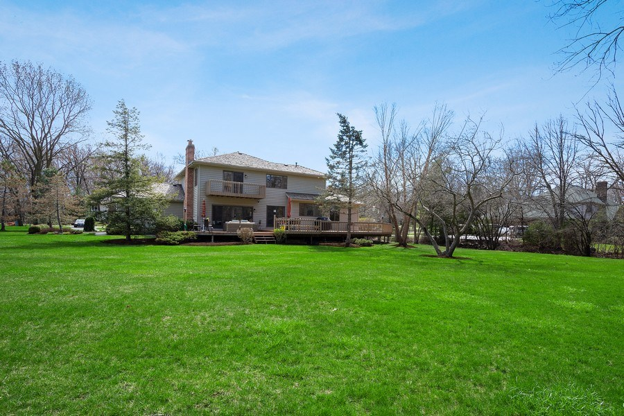 Real Estate Photography - 21362 W. Brandon Road, Kildeer, IL, 60047 - Backyard