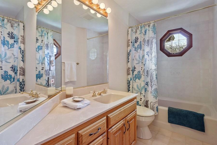 Real Estate Photography - 21362 W. Brandon Road, Kildeer, IL, 60047 - 2nd Bathroom