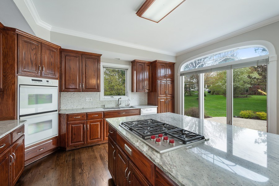 Real Estate Photography - 22935 N. Woodcrest Lane, Kildeer, IL, 60047 - Kitchen