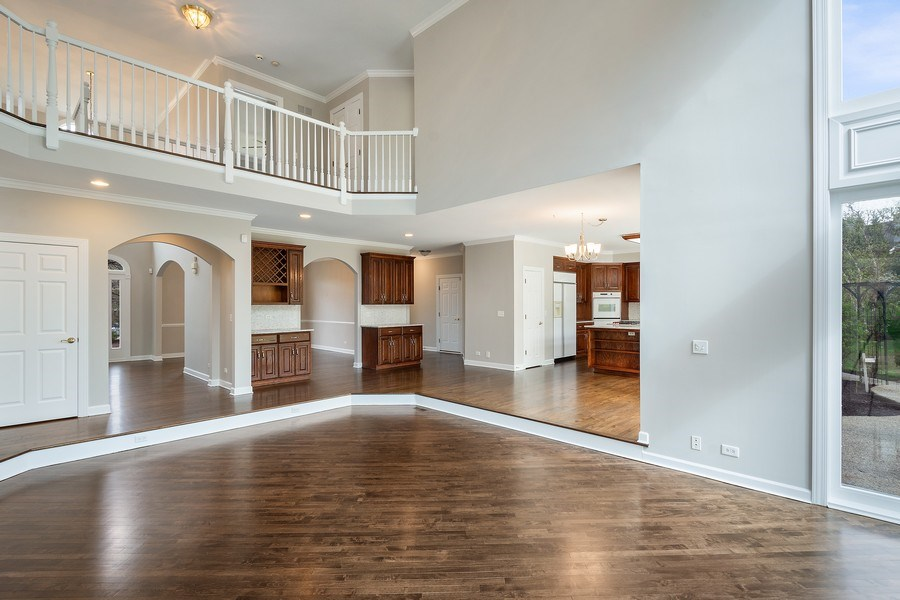 Real Estate Photography - 22935 N. Woodcrest Lane, Kildeer, IL, 60047 - Great room