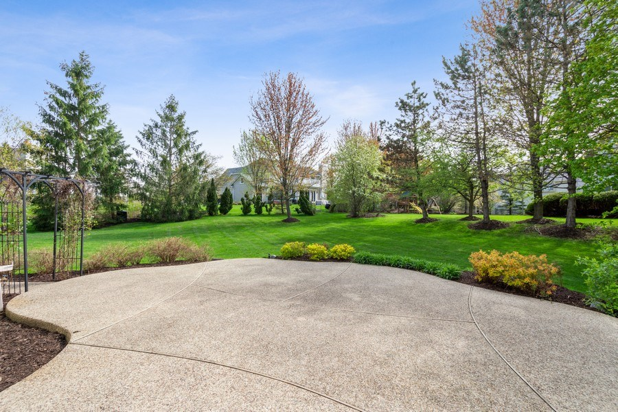 Real Estate Photography - 22935 N. Woodcrest Lane, Kildeer, IL, 60047 - Patio